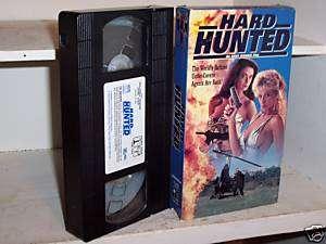 Hard Hunted (1992) vhs Cynthia Brimhall Dona Speir