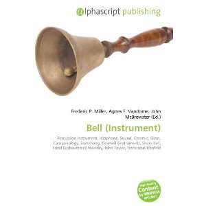 Bell (Instrument): Percussion instrument, Idiophone, Sound, Ceramic