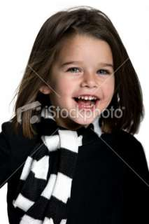 Kids   Cute Little Girl With a Beautiful Smile (XL) Royalty Free Stock