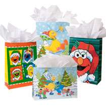 Bulk Sesame Street Elmo & Friends Large Gift Bags at DollarTree