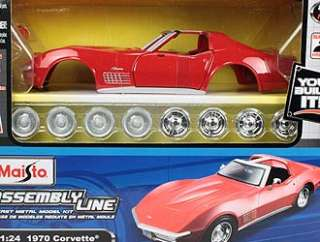Chevrolet Corvette (Kit) Diecast Model Car Kit by Maisto 39273