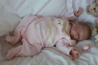 Reborn Vinyl Doll Kit Peach Baby FAITH Heather Boneham