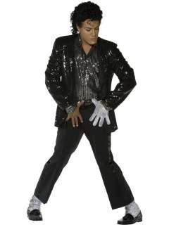 Costume carnevale Micheal Jackson Billie Jean Tg.L#7378
