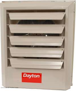 F79 Dayton Electric Unit Heater With 20 Gauge Steel Housing