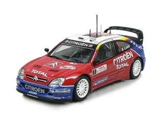 Citroen Xsara WRC (Winner 2005 Monte Carlo Rally) Diecast Model Car by