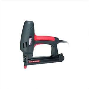 Electric Nail Gun with Case and 1000pc 1 1/4 Brad Nails: Home