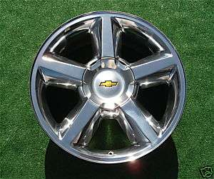NEW Chevy Tahoe Suburban POLISHED 20 in Wheel Rim 5308