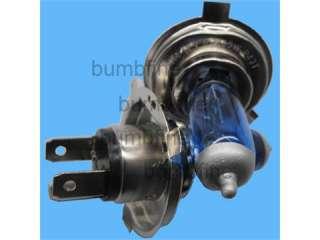 2x H4 Halogen WHITE HEADLIGHT Bulbs Bulb Car Light