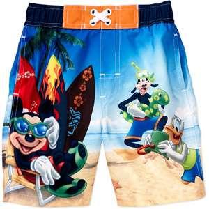Disney   Baby Boys Mickey Mouse Swim Trunks Clothing