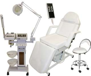 11 in 1 SALON FACIAL MACHINE & MASSAGE TABLE CHAIR BED