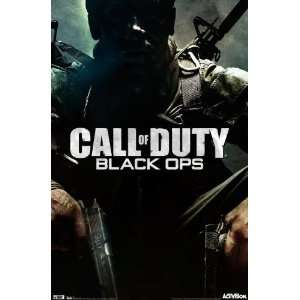 Call Of Duty Black Ops Poster XBox 360 22X34