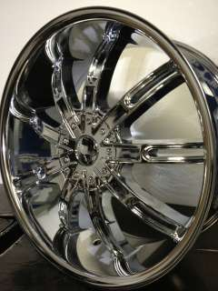 22 inch Versante Chrome Wheels/Rims Ford F150 Harley Davidson,Limited