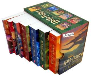 Harry Potter the Complete Series 1 7 Books Collection Set)