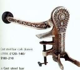 BOOK  Miller Corkscrews & Wine Antiques Collector Guide 9781840004397