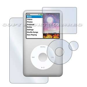 FULL BODY SCREEN PROTECTOR GUARD COVER FOR IPOD CLASSIC 80/120/160 GB