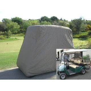 Deluxe 4 Passenger Golf Cart Cover fits E Z GO, Club Car and Yamaha G