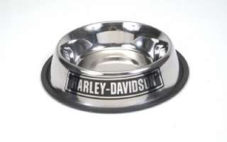 Harley Davidson Stainless Steel Pet Dog Bowl 16oz