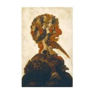 Giuseppe Arcimboldo   The Four Elements   Air Giclee