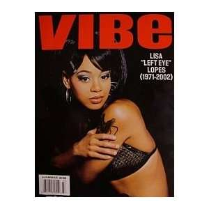 , July 2002   Lisa Left Eye Lopes Tribute Issue: Vibe Magazine: Books