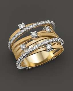 Marco Bicego Goa Collection 18 Kt. Gold and Diamond Ring   Rings