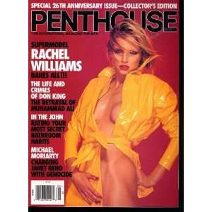 PENTHOUSE September 1995 RACHEL WILLIAMS pictorial,Bon