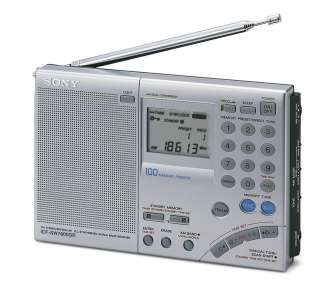 GENUINE SONY ICF SW7600GR AM FM SHORT WAVE RADIO IN FACTORY BOX SW7600