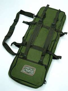 33 Dual Tactical Rifle AEG Carrying Case Gun Bag OD #B
