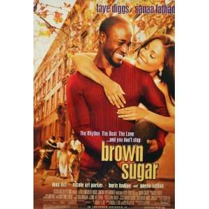 Sugar Movie Taye Diggs Sanaa Lathan 28x41 Poster: Home & Kitchen
