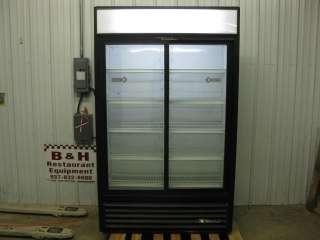 are looking at a True 2 sliding Glass Door Merchandiser Refrigerator