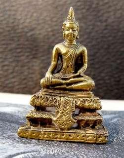 GODDESS Hindu Statue Buddha Scuplture BRASS Shiva God ~