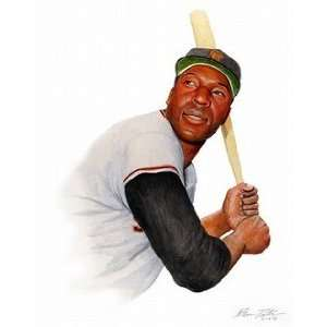 Willie McCovey San Francisco Giants Giclee on Canvas