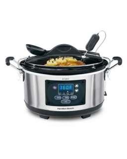 Hamilton Beach 33967 Set n Forget 6 Quart Programmable Slow Cooker