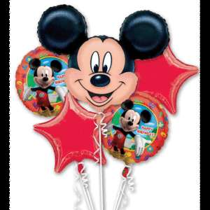 Mickey Mouse Clubhouse Happy Birthday Balloons Bouquet