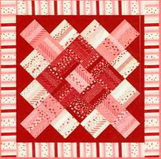 LOVE & KISSES Jelly Roll PATTERN Moda Candy Kisses