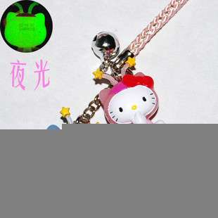 New Lovely Cell Phone Strap Charm   Hello Kitty HK344   Luminous