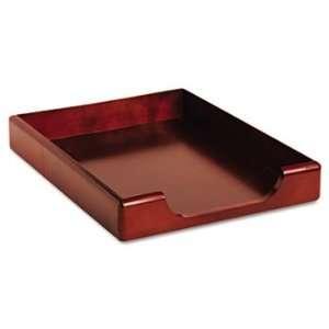 Rolodex 23350   Wood Tones Letter Desk Tray, Wood
