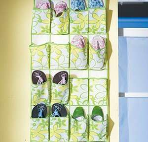 20 Pocket Shoe Storage Solutions Shelves Hanging Shoe Organizer Ideas