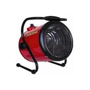 Seasons Comfort EUH1240, 240V Fan Forced Heater, Red
