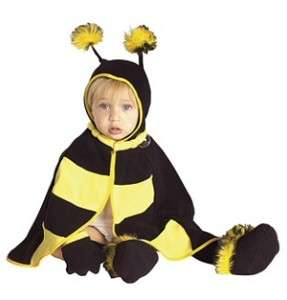 BEE bumblebee girls boys kids baby infant costume 6 12M