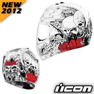 NEW 2012 Alliance Torrent Motorcycle Street Helmet White XL