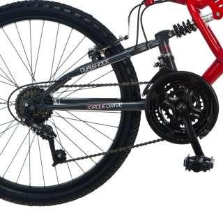 Pacific Chromium 24 Boys Dual Suspension Mountain Bicycle/Bike