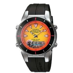 Casio Marine Gear Dual Time Watch with Tide Graph and Moon