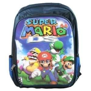 Super Mario & Luigi Large Backpack Toys & Games