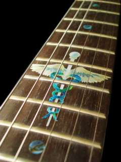 Caduceus/Snakes on a Sword Fret Markers Inlay Sticker