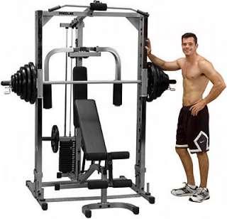 Body Solid PowerLine Smith Machine Gym PSM144XS