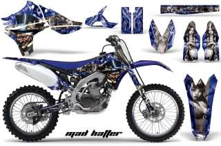 AMR RACING MX MOTO DIRT GRAPHIC STICKER KIT YAMAHA YZ450F YZ 450F PART