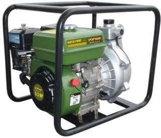 New Sportsman 1.5 Portable High Pressure Water Pump   65 GPM
