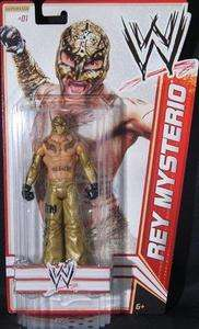 REY MYSTERIO WWE MATTEL BASIC 13 ACTION FIGURE TOY