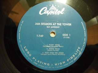 LP   Ray Anthony   Jam Session at the Tower