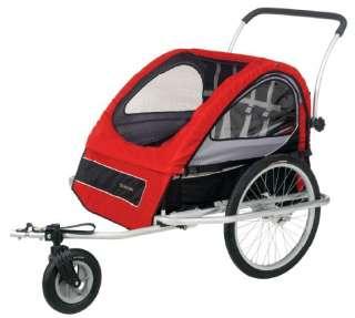 SCHWINN Mark II Deluxe Bicycle/Bike Trailer & Stroller 038675076600